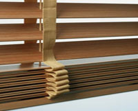 Дървени хоризонтални щори